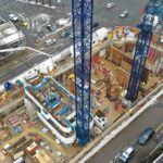 Oxygen Tower in Manchester construction update Flambard Williams