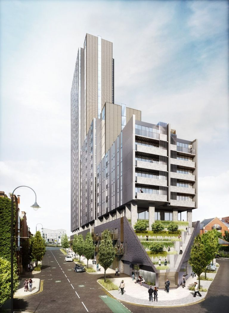 Oxygen Tower development in Manchester Flambard Williams