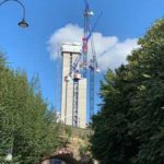 Oxygen Tower in Manchester construction update Flambard Williams 2
