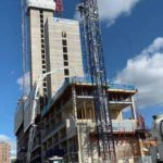 Oxygen Tower in Manchester construction update Flambard Williams 4