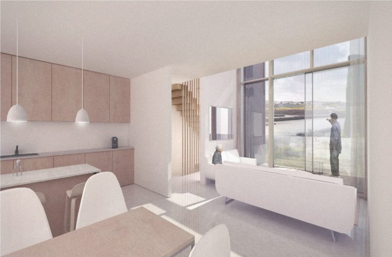 noth quay hayle development in cornwall