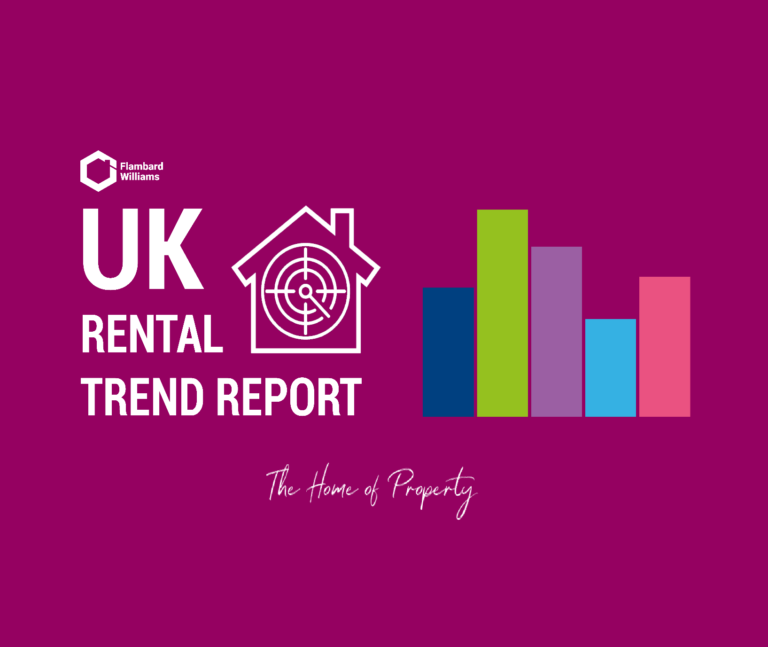 Rental Trend Report tracker for the rental market in the UK